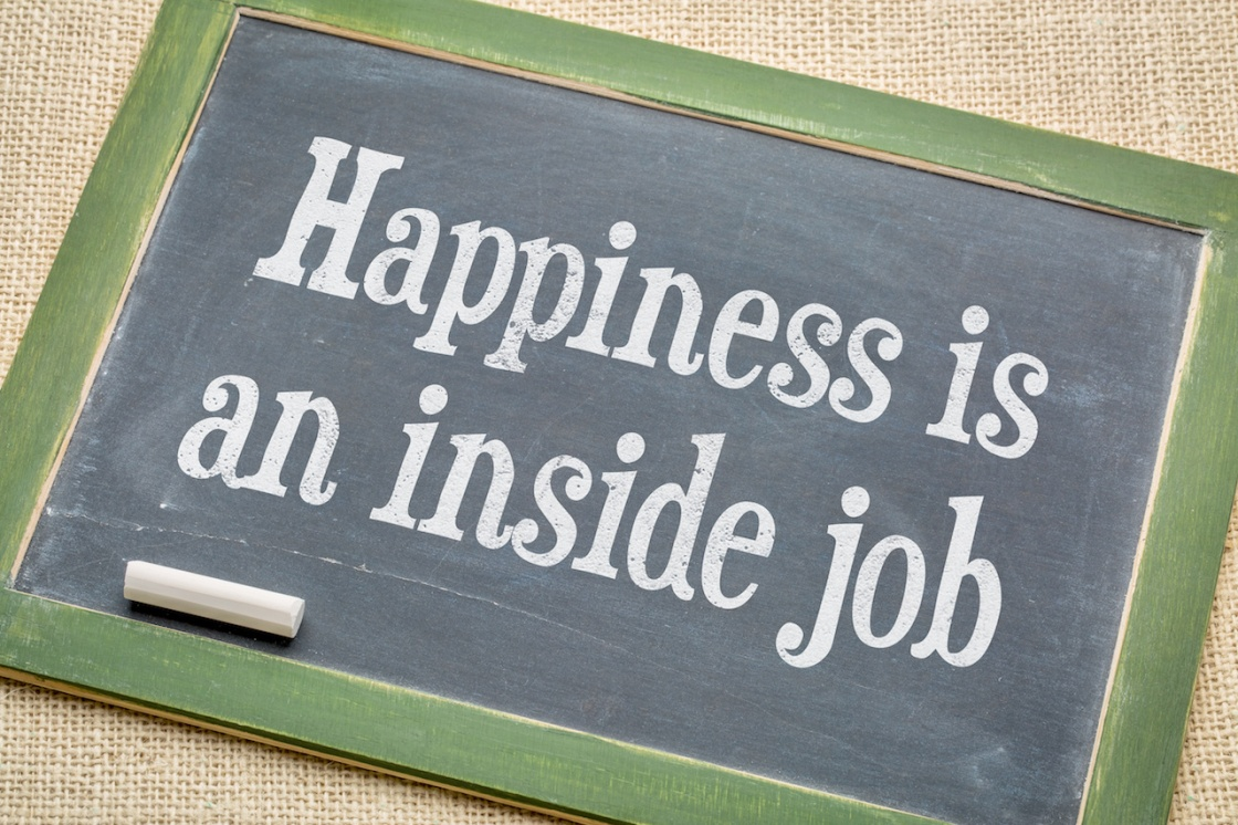 Happiness in an inside job